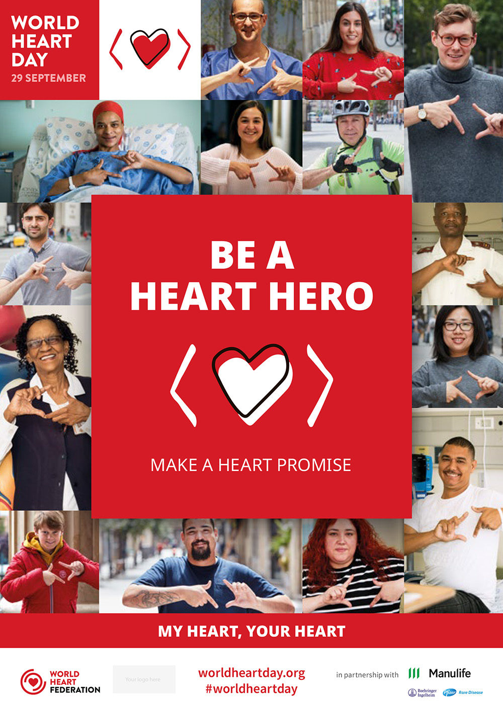 Image result for world heart day 2019