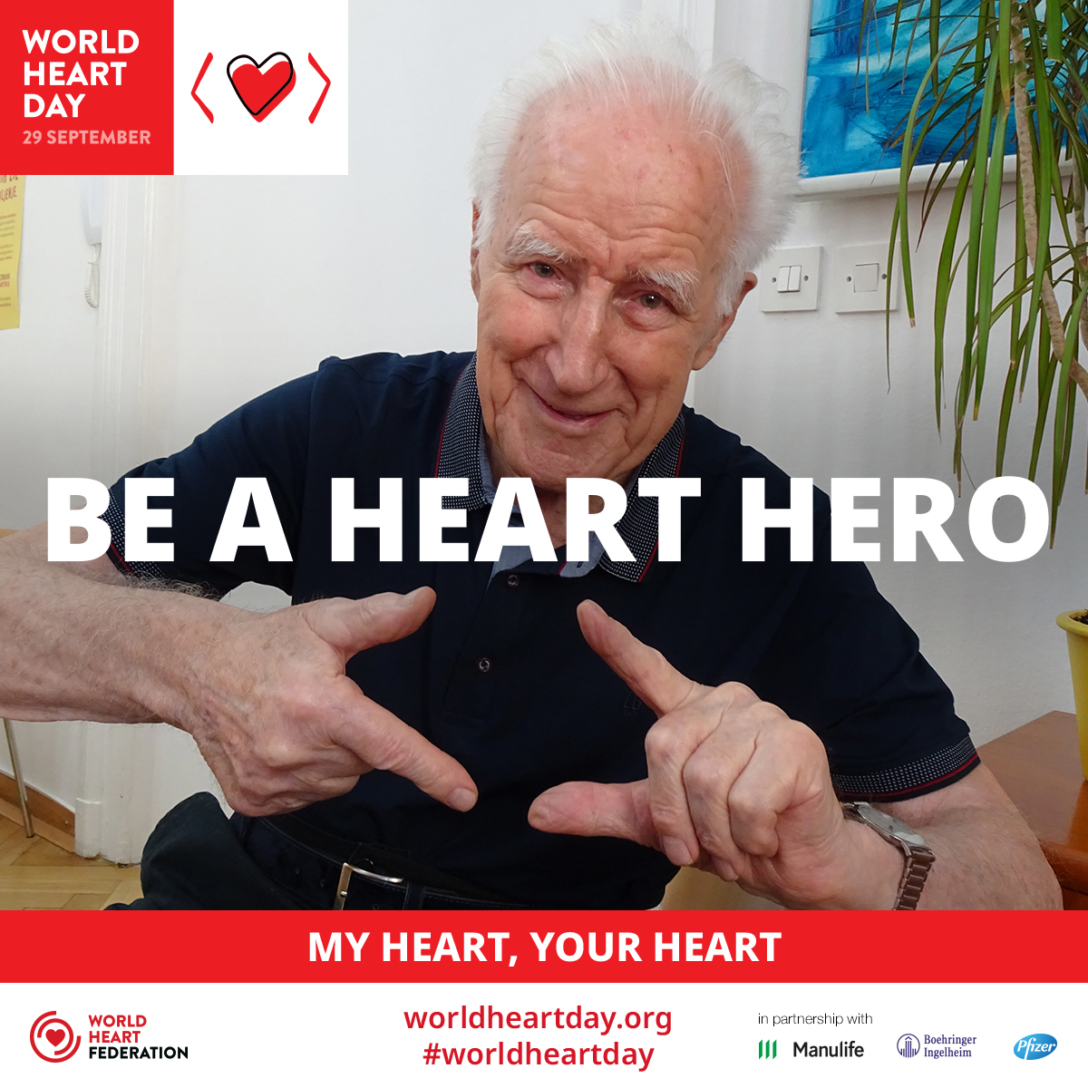 Celebrating our Heart Heroes 2019: Dr Boris Cibic - World