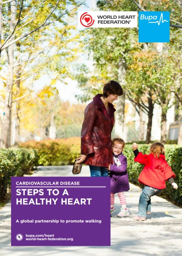 8 Week Walking Challenge World Heart Federation World