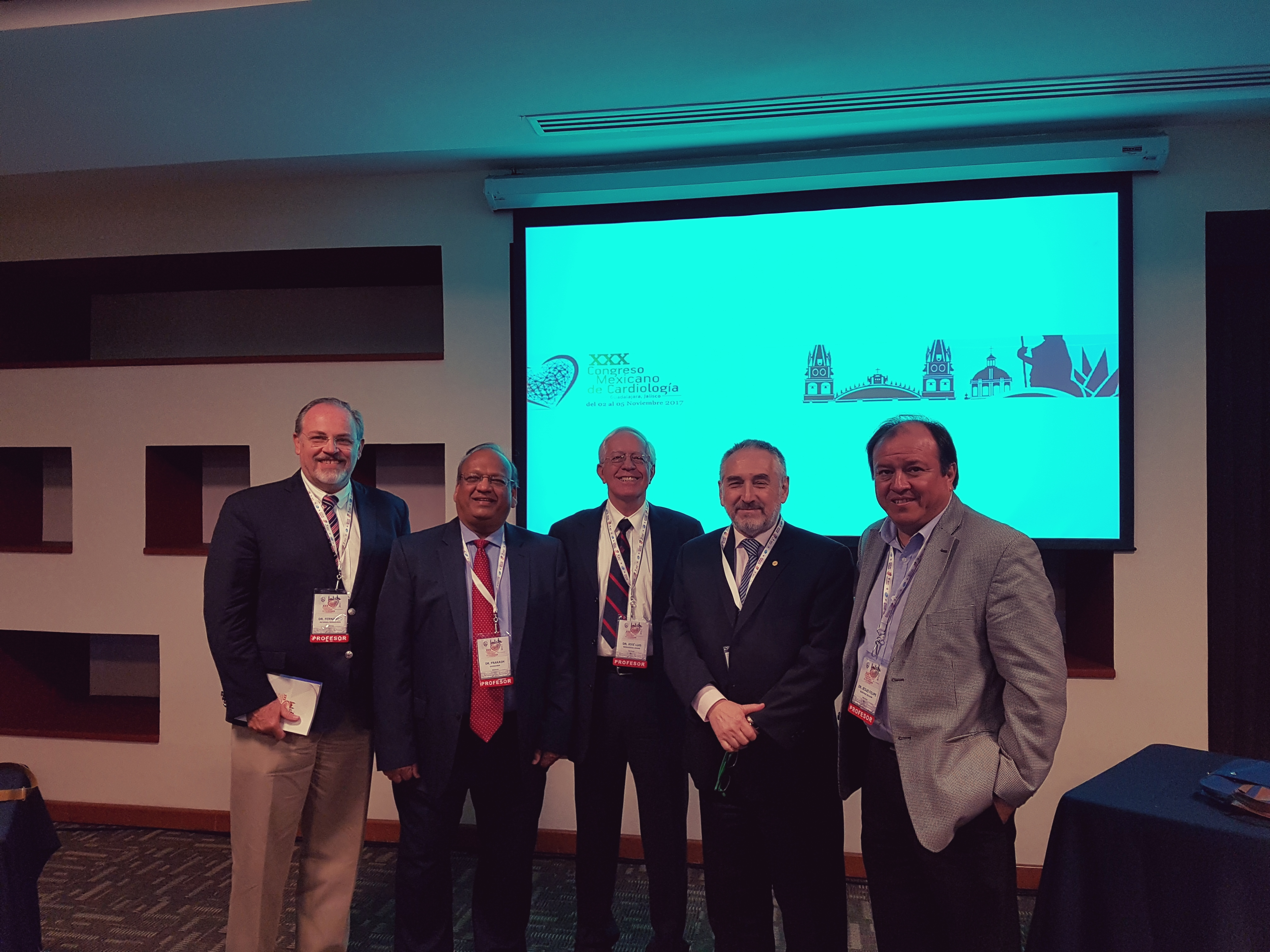 Homemade Mexican Xxx in whf attends the 30th mexican congress of cardiology - world heart