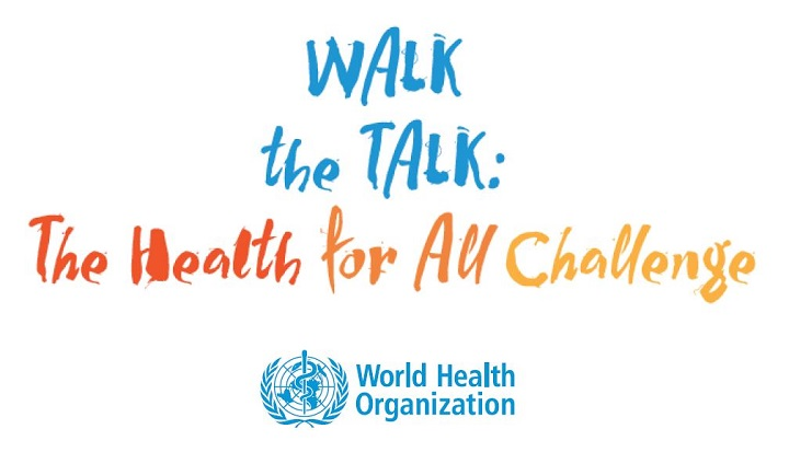 walk the talk the health for all challenge world heart federation