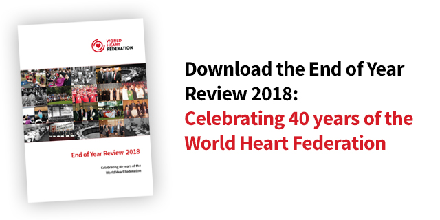 Happy New Year 2019 With A Look Back On 2018 World Heart