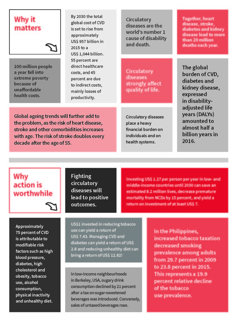 Infographic: Cost of Circulatory Health - World Heart Federation