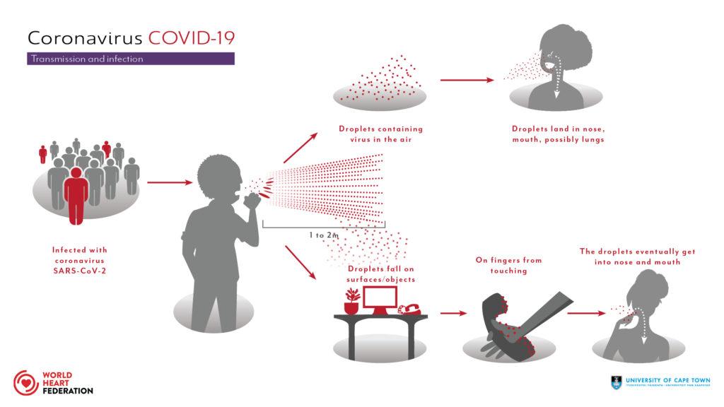 transmission of covid-19 virus